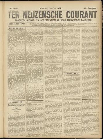 Ter Neuzensche Courant. Algemeen Nieuws- en Advertentieblad voor Zeeuwsch-Vlaanderen / Neuzensche Courant ... (idem) / (Algemeen) nieuws en advertentieblad voor Zeeuwsch-Vlaanderen 1927-07-25