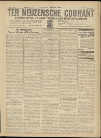 Ter Neuzensche Courant. Algemeen Nieuws- en Advertentieblad voor Zeeuwsch-Vlaanderen / Neuzensche Courant ... (idem) / (Algemeen) nieuws en advertentieblad voor Zeeuwsch-Vlaanderen 1937-01-08