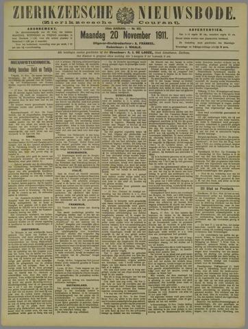Zierikzeesche Nieuwsbode 1911-11-20