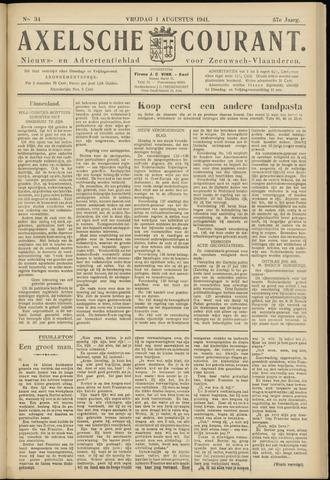 Axelsche Courant 1941-08-01