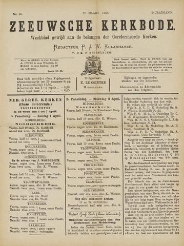 Zeeuwsche kerkbode, weekblad gewijd aan de belangen der gereformeerde kerken/ Zeeuwsch kerkblad 1888-03-31