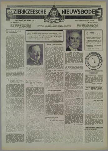 Zierikzeesche Nieuwsbode 1937-04-13