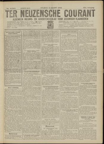 Ter Neuzensche Courant. Algemeen Nieuws- en Advertentieblad voor Zeeuwsch-Vlaanderen / Neuzensche Courant ... (idem) / (Algemeen) nieuws en advertentieblad voor Zeeuwsch-Vlaanderen 1942-03-13