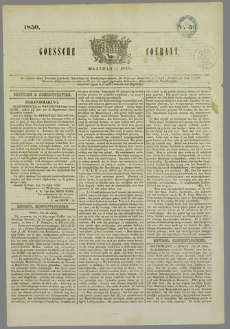 Goessche Courant 1850-06-24