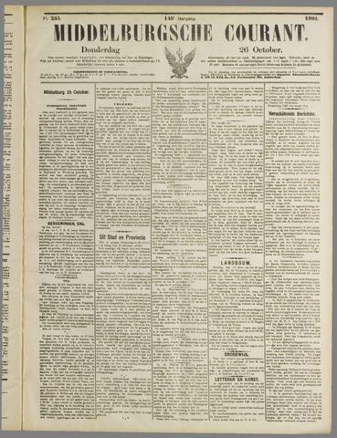 Middelburgsche Courant 1905-10-26