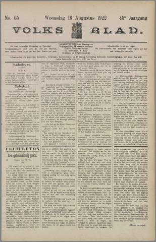 Volksblad 1922-08-16