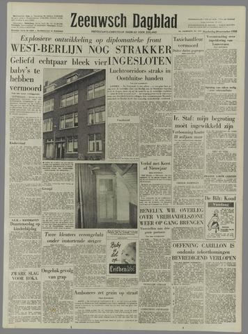 Zeeuwsch Dagblad 1958-11-20
