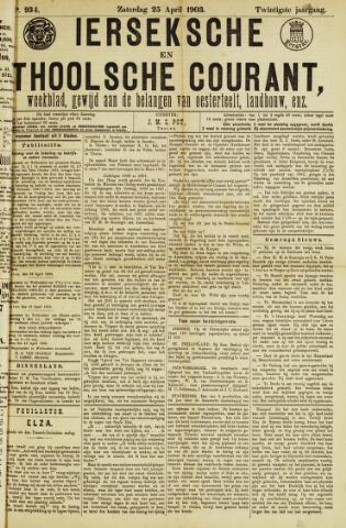 Ierseksche en Thoolsche Courant 1903-04-25