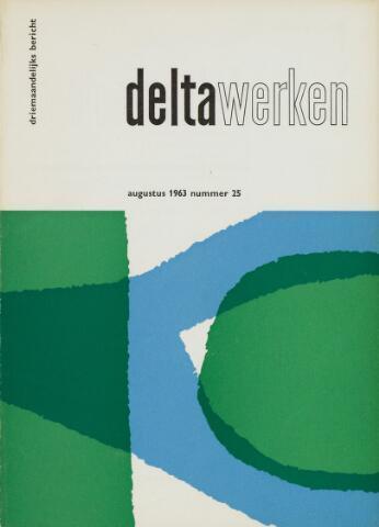 Driemaandelijks bericht Deltawerken 1963-08-01