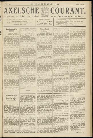 Axelsche Courant 1929-01-25