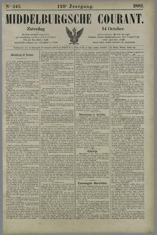 Middelburgsche Courant 1882-10-14