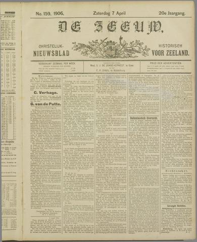 De Zeeuw. Christelijk-historisch nieuwsblad voor Zeeland 1906-04-07