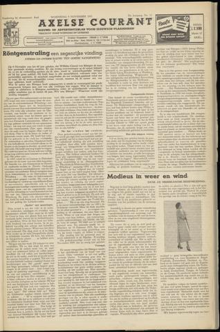 Axelsche Courant 1955-11-09