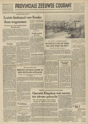 Provinciale Zeeuwse Courant 1953-07-25
