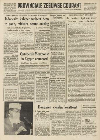 Provinciale Zeeuwse Courant 1956-12-27