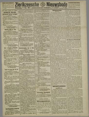 Zierikzeesche Nieuwsbode 1917-10-17
