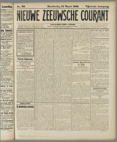 Nieuwe Zeeuwsche Courant 1919-03-13