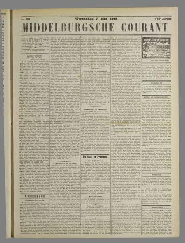 Middelburgsche Courant 1919-05-07