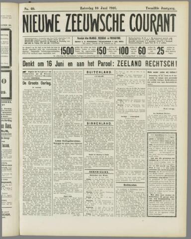 Nieuwe Zeeuwsche Courant 1916-06-10