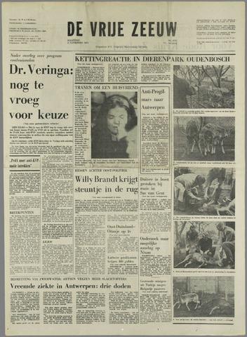 de Vrije Zeeuw 1970-11-09