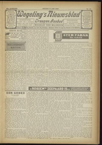 Zeeuwsch Nieuwsblad/Wegeling's Nieuwsblad 1929-06-14