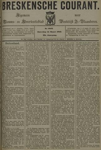 Breskensche Courant 1913-03-15