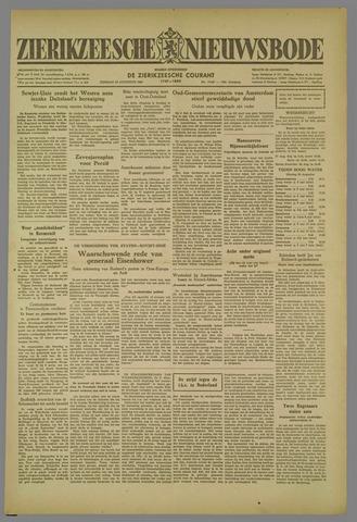 Zierikzeesche Nieuwsbode 1952-08-26