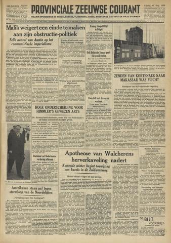 Provinciale Zeeuwse Courant 1950-08-11