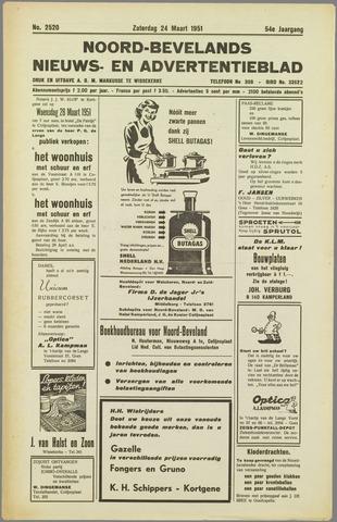 Noord-Bevelands Nieuws- en advertentieblad 1951-03-24