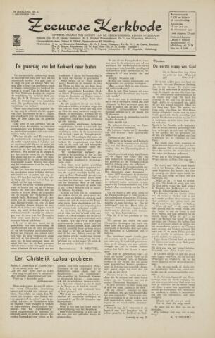 Zeeuwsche kerkbode, weekblad gewijd aan de belangen der gereformeerde kerken/ Zeeuwsch kerkblad 1964-12-04