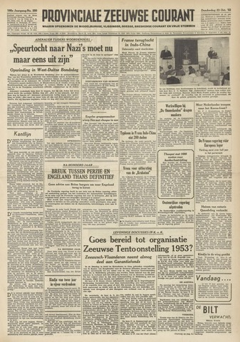 Provinciale Zeeuwse Courant 1952-10-23