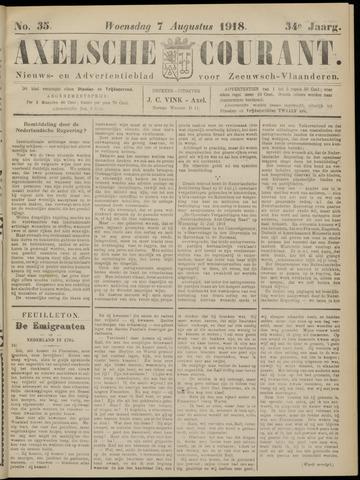 Axelsche Courant 1918-08-07