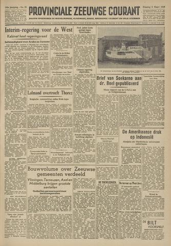 Provinciale Zeeuwse Courant 1949-03-08
