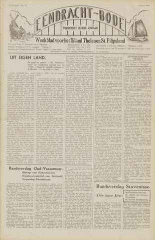 Eendrachtbode (1945-heden)/Mededeelingenblad voor het eiland Tholen (1944/45) 1949-03-04