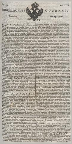 Middelburgsche Courant 1777-04-19