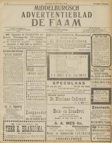 de Faam en de Faam/de Vlissinger 1915-11-24