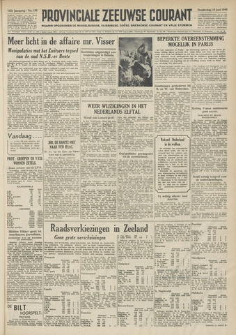 Provinciale Zeeuwse Courant 1949-06-16