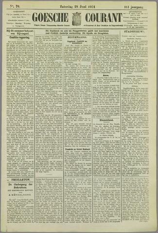 Goessche Courant 1924-06-28
