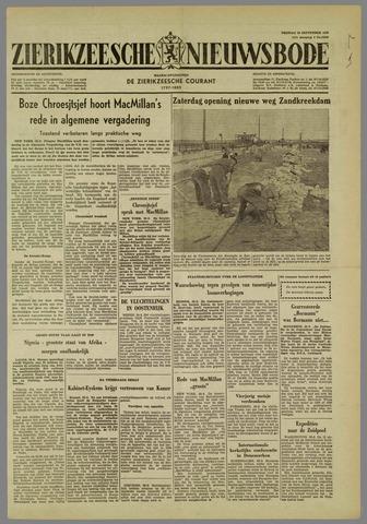 Zierikzeesche Nieuwsbode 1960-09-30