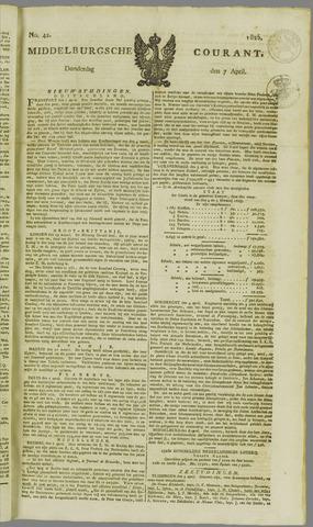 Middelburgsche Courant 1825-04-07