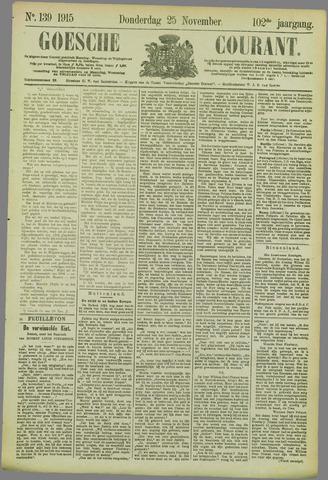 Goessche Courant 1915-11-25