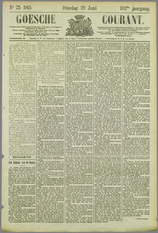 Goessche Courant 1915-06-29