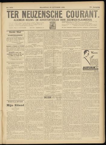 Ter Neuzensche Courant. Algemeen Nieuws- en Advertentieblad voor Zeeuwsch-Vlaanderen / Neuzensche Courant ... (idem) / (Algemeen) nieuws en advertentieblad voor Zeeuwsch-Vlaanderen 1933-10-23