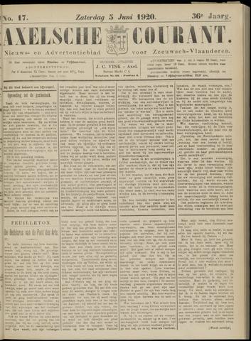 Axelsche Courant 1920-06-05