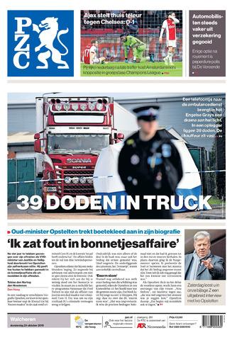 Provinciale Zeeuwse Courant 2019-10-24