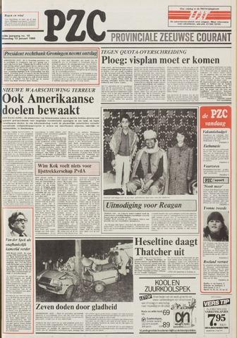 Provinciale Zeeuwse Courant 1986-01-13