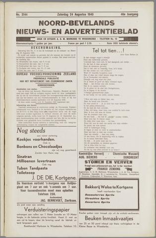 Noord-Bevelands Nieuws- en advertentieblad 1940-08-24