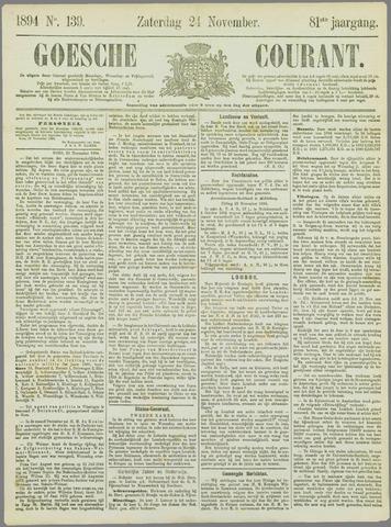 Goessche Courant 1894-11-24
