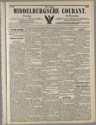 Middelburgsche Courant 1903-12-22