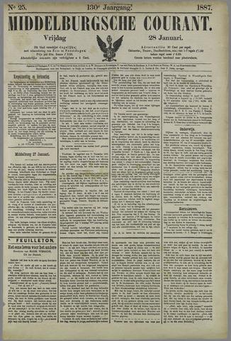 Middelburgsche Courant 1887-01-28